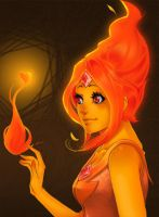 Flame princess by RattledMachine