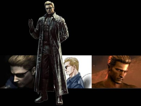 RE Albert Wesker Wallpaper I by KaixTomiko
