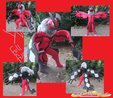 Yveltal Fursuit by jolteon-kitty