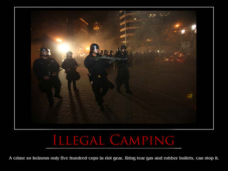 Illegal Camping by brainhiccup