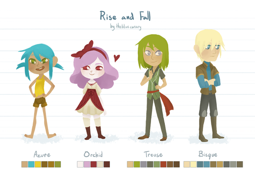 Rise and Fall 1 by ambisweetiepie