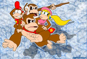 Donkey Kong Country: Tropical Four by YoshiMan1118