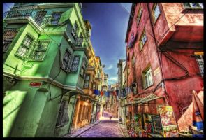 The Rainbow Street HDR by ISIK5