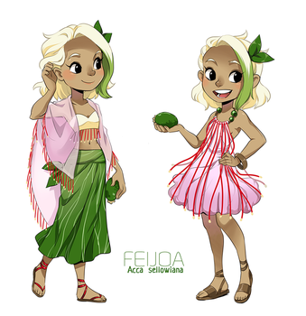 dollicious Exotic: Feijoa by meago