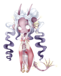 Lunathyst - AT for Character (chibis) = Dextro by ArtWeazel