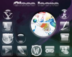 Vista Glass Icons - for XP by astroasis