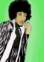 Jimi Hendrix by Will-of-the-spurr