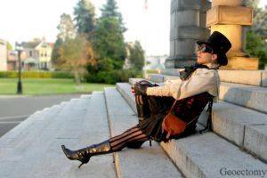 Steampunk Professor 9 by geoectomy