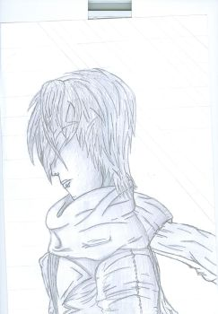 Guy in a scarf I drew to piss off ThatGuyWhoDrawz. by notmyrealusername