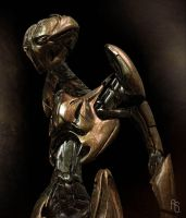 Robot Concept 2 by aaronsimscompany