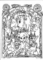 This is an image of Ridiculous artzone coloring books