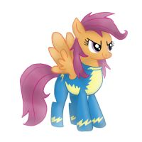 Scootaloo the Wonderbolt by Lolalita264
