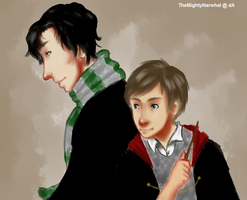 Potterlock by TheMightyNarwhal