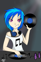 Vinyl Scratch by ForeverIncompetent