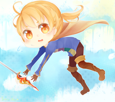 Art trade - Ramza !! by Yorkiie-Chan