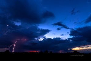 Storm Crashing Down by DavidMCoyle