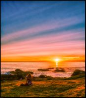 Contemplation of a Sunset by cokehead666