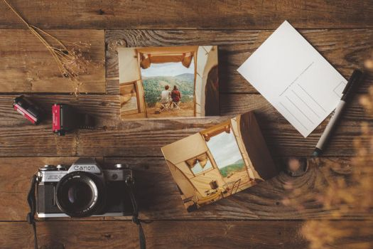 travel moments (postcards for sale) by Rona-Keller