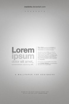 A wallpaper for Designers by mauricioestrella