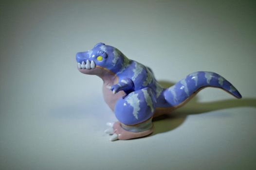 macrosaurus in clay by MrKorra