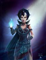 Evil-Lyn by clementmeriguet
