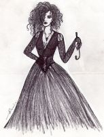 Bellatrix Lestrange Black by ericalolitablack