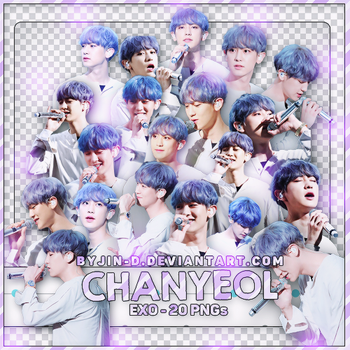 //14072017// Pack Render ChanYeol @EXO by BYjin-D