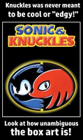Knuckles the Unambiguous by TheSwordLegion