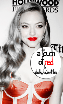 A Touch of Red PSD by shellyplayswithfire