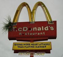 Why McDonald's is bad for you XD by The-Hero-Of-Thyme