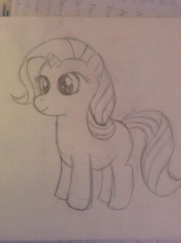 Filly Rarity by alwysbkre8ive