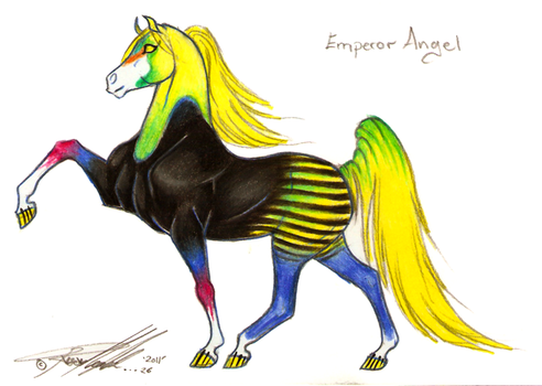 Emperor Angel by Carousel-Stables
