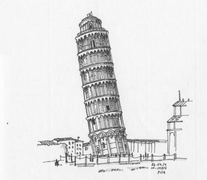 Leaning Tower of Pisa by bozwolfbros