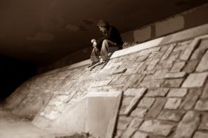 troll in the tunnel by Ecotone