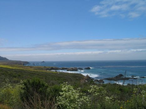 Along Highway 1 -10- by mountainliongrl