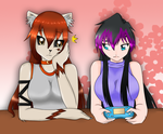 shacta and shoran a color by dulceq345pucca