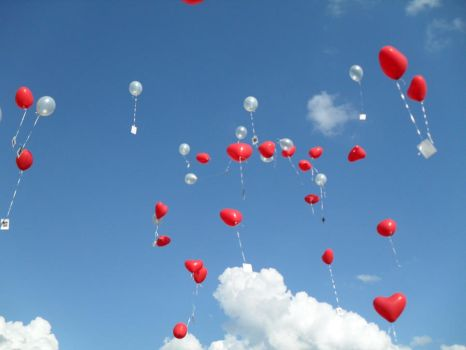 Balloons Up and Away I by Mr-Dummy