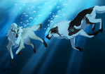 Sea of Love -- Collab by InstantCoyote