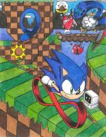 Sonic the Hedgehog: Green Hill Zone by Deuce2011