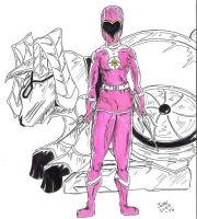Pink Ranger Venus by JohntheSilver