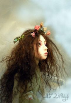Ophelia Ball jointed doll by cdlitestudio
