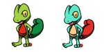 Pokemon #252 - Treecko by Fyreglyphs