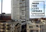 When the City Speaks - poetry e-book cover by Elendurwen