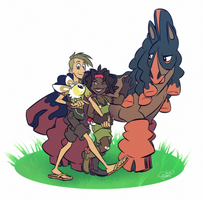 Pokemon - Buttons and Meg