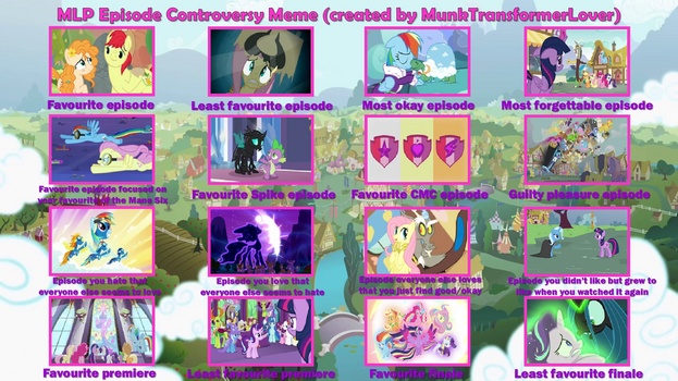 MLP Episode Controversy Meme by srbarker