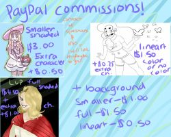 Paypal Commissions by Candy--Cat