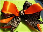 Halloween Bow by Kitty-Sprinkles