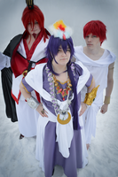 Magi - Prince, King and Servant. by Tohkoe