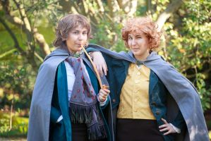 Trust a Brandybuck and a Took! by ilcielocapovolto
