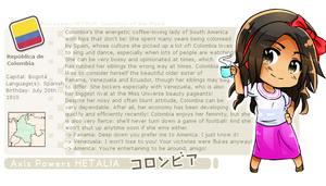 APH Colombia profile card! by melondramatics
